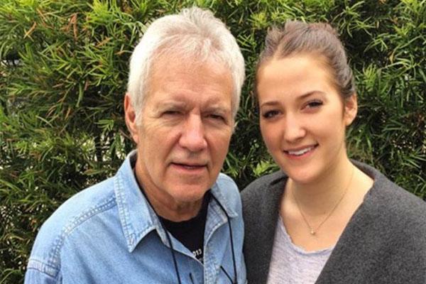 Alex Trebek's daughter, Emily Trebek