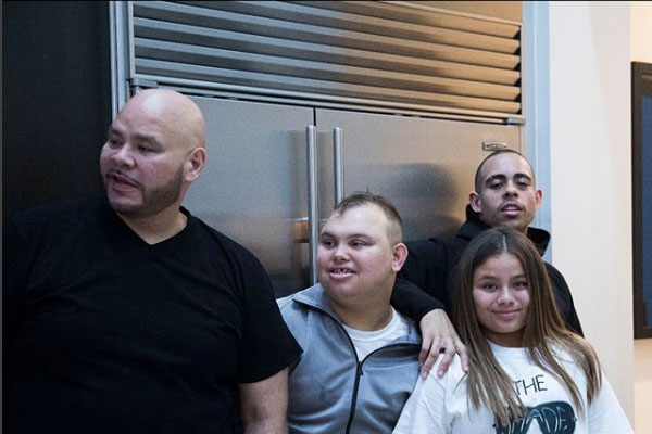 Fat Joe and his children
