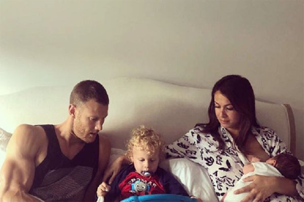 Tom Hopper and his family