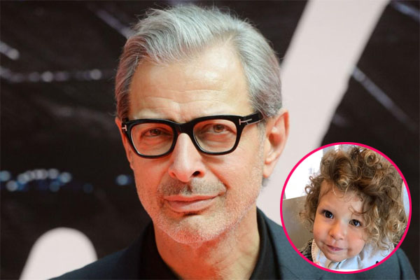 Charlie Ocean's father, Jeff Goldblum