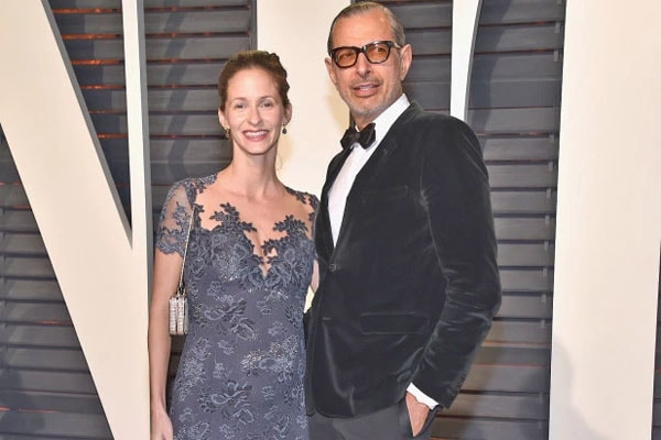 Jeff Goldblum and Emilie Livingston