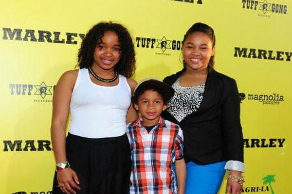 Stephen Marley's son, Jerimiah Marley