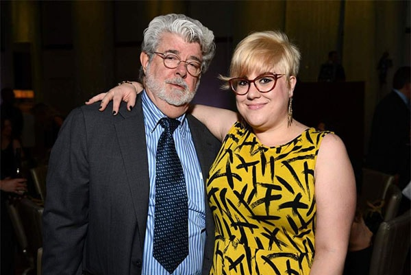 George Lucas second daughter, Katie Lucas