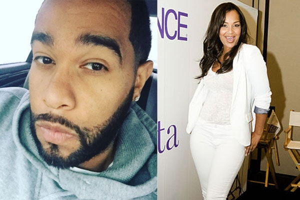 Kenji Pace's ex-partner is LisaRaye McCoy