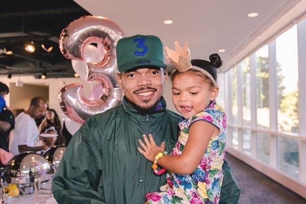 Chance the Rapper's daughter, Kensli Bennett