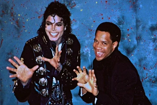 Kerry Gordy and Michael Jackson