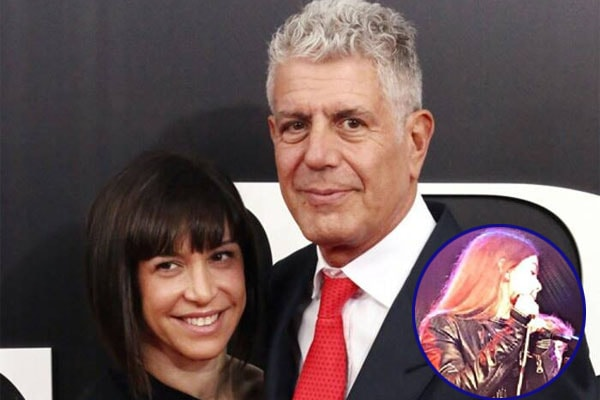 Late Anthony Bourdain's daughter Ariane Bourdain with his second wife, Busia
