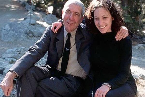 Late Leonard Cohen and his daughter, Lorca Cohen