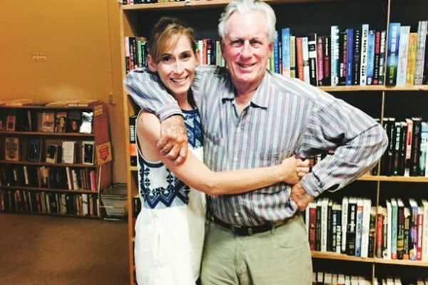 Late Margot Kidder's daughter Magge McGuane with author
