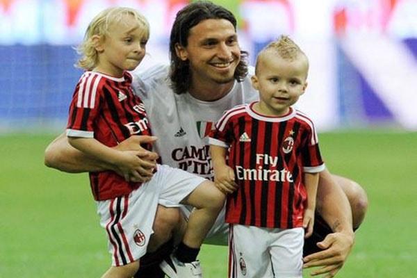 Zlatan Ibrahimović's sons, Maximilian Ibrahimović'and Vincent Ibrahimović'