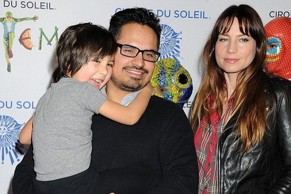 Michael Pena and his wife, Brie Shaffer with their son, Roman Pena