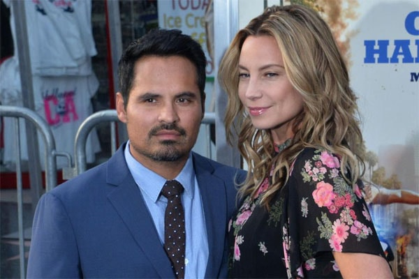 Michael Pena and his wife, Brie Shaffer