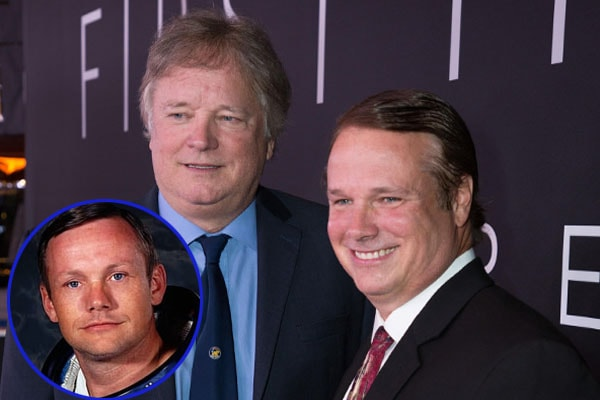 Neil Armstrong's sons; Mark Armstrong and Eric Armstrong
