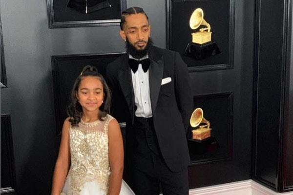 Nipsey Hussle's daughter Emani Asghedom