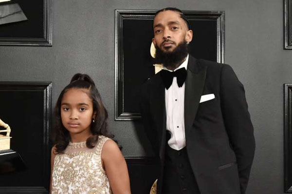 Emani Asghedom, Nipsey Hussle's daughter