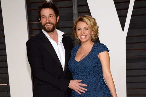 Noah Wyle and his current wife,Sara Wells
