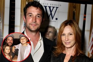 Noah Wyle's son and daughter