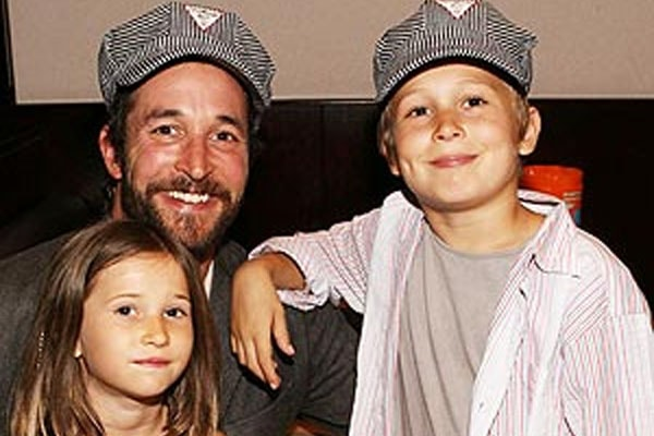 Noah Wyle's children; son Owen Strausser Wyle and a daughter Auden Wyle.