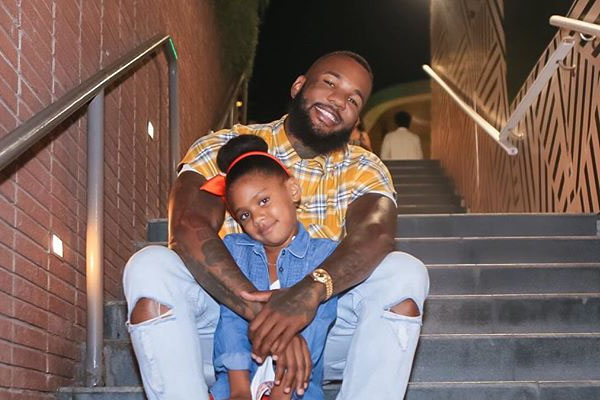 The Game and daughter California Dream Taylor