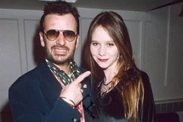 Ringo Starr's daughter Lee Starkey