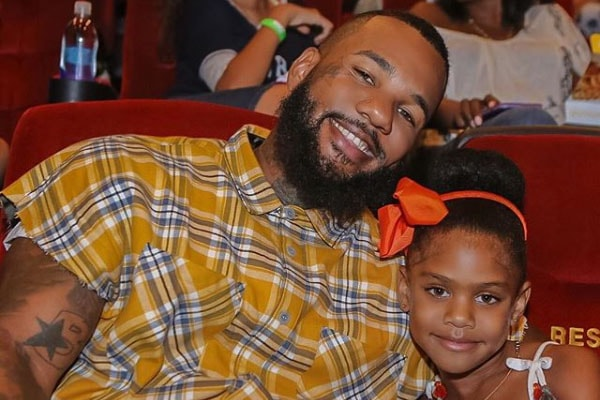 The Game with his daughter, California Dream Taylor