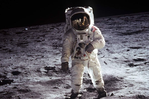 The first man to land on the moon, Neil Armstrong