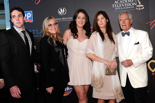 Emily Trebek and her family