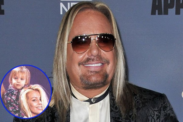 Vince Neil and his daughter Skylar Lynnae; she died of tumor cancer
