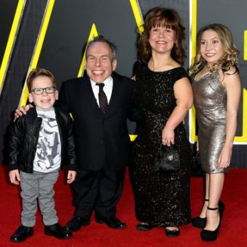 Meet Samantha Davis – Photos Of Warwick Davis' Wife and The Mother Of His Two Children