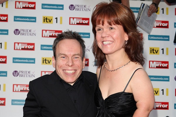 Warwick Davis and his wife, Samantha Davis