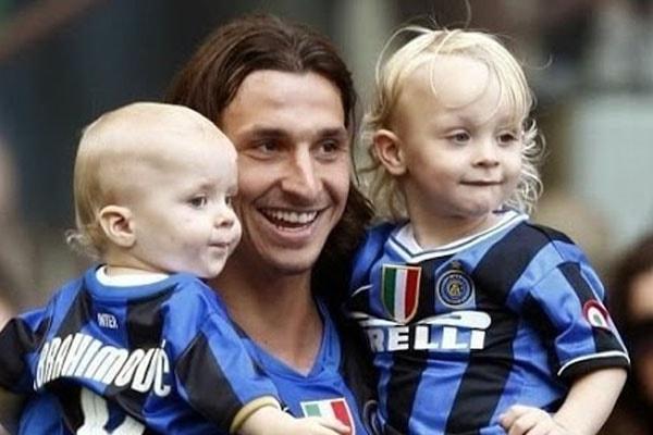 Zlatan Ibrahimović's sons, Maximilian Ibrahimović and Vincent Ibrahimović