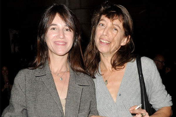Charlotte Gainsbourg and daughter Alice Attal