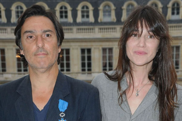 Alice's parents Charlotte Gainsbourg & Yvan Attal