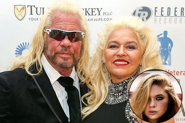 Cecily Chapman with parents Beth Chapman and Duane Chapman,