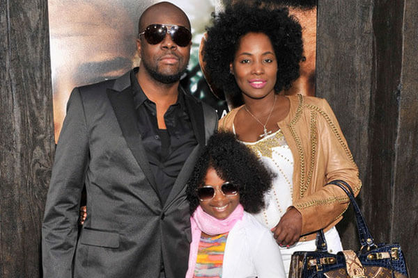 Wyclef Jean, Claudinette Jean and Angelina Claudinelle