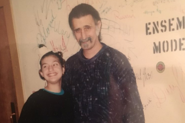 Diva Zappa, Frank Zappa