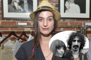 Frank Zappa's daughter Diva Zappa