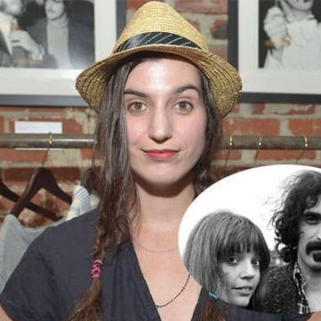 Meet Diva Zappa – Photos Of Frank Zappa's Daughter With Wife Gail Zappa