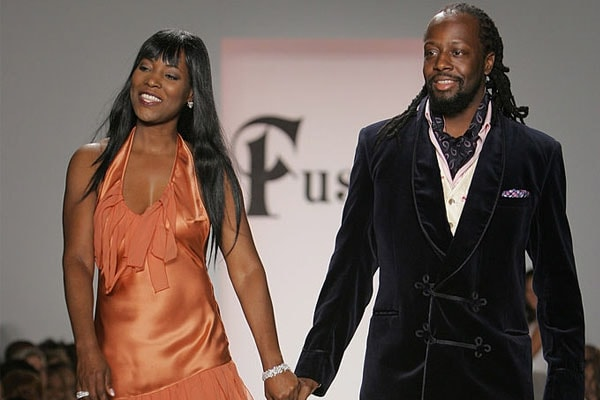 Marie Claudinette Pierre-Jean and husband Wyclef Jean