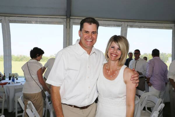 Dan Buck with wife
