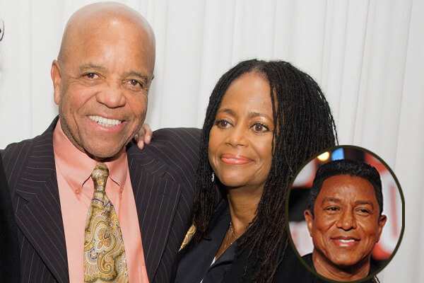 Hazel Gordy and Berry Gordy