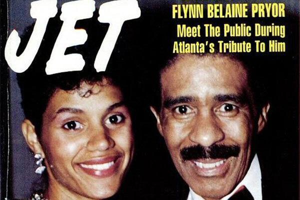 Richard Pryor and Flynn Belaine