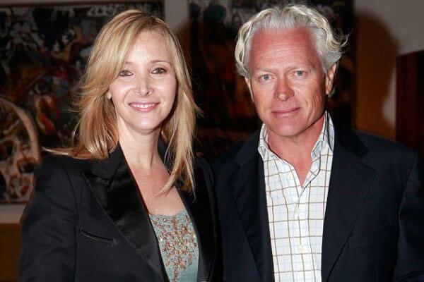Lisa Kudrow and her husband Michel Stern
