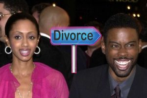 Malaak Compton Rock and ex-husband Chris Rock