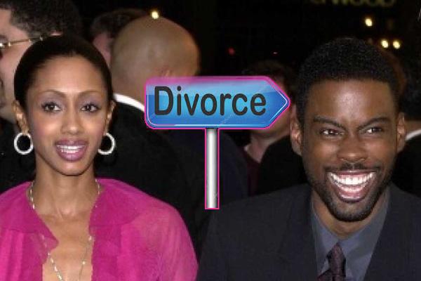 Malaak Compton Rock and ex-husband Chris Rock