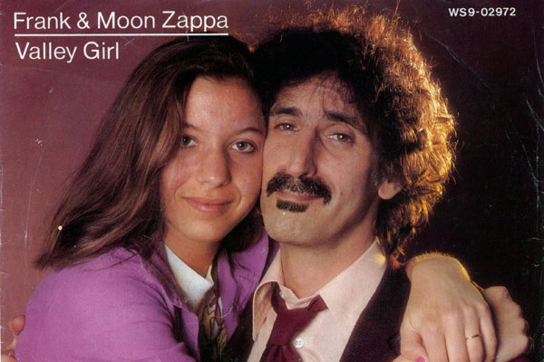 Mathilda's mother Moon Zappa and grandfather Frank Zappa. Image Source:
