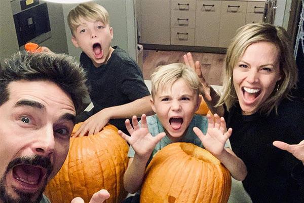 Kristin Richardson's sons Mason and Maxwell