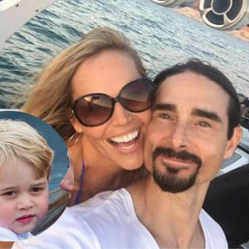 Meet Maxwell Haze Richardson – Photos Of Kristin Richardson's Son With Husband Kevin Richardson