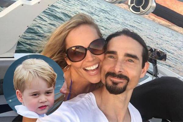 Kristin Richardson's son Maxwell Haze Richardson