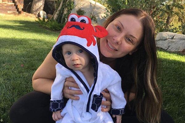 Lauren Kitt's son Odin Reign Carter